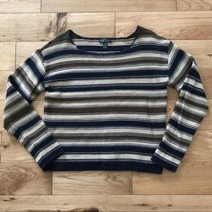 LRL Ralph Lauren striped sweater